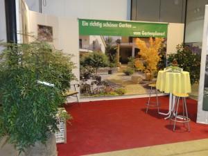 So begrüßt Sie der Gartenplaner Helmut Lamprecht zur Messe Gartenträume in Freiburg
