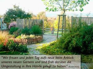 Schöner Gartensitzplatz mit viel Grün in Kirchzarte - Zarten