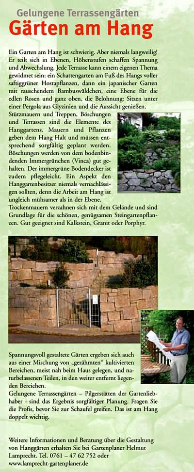 Hausgarten, Gartenachitektur, Gartenplanung, Gartengestaltung
