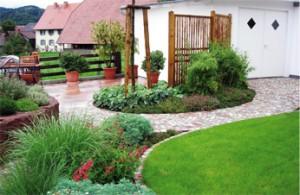 Bepflanzung durch den Gartenarchitekten geplant
