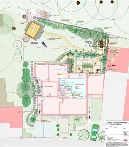 Gartenumgestaltung mit großem Sitzplatz in Freiburg, Sonnhalde, Helmut Lamprecht Gartenplaner