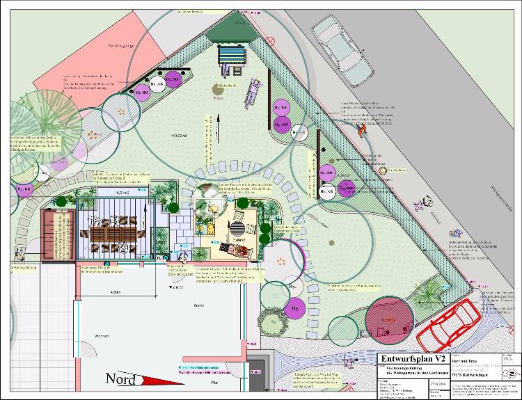 Neuer Gartensitzplatz und Sichtschutz in Bad Krozingen, Helmut Lamprecht, Gartenplaner
