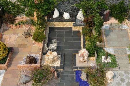 Gartenausstellung VON GRANULATI ZANDOBBIO, Italien. Mustergärten in Italien mit großzügiger Gestaltung und viel Flair